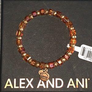 Alex & Ani Wish Wrap Golden Days Wrap Bracelet